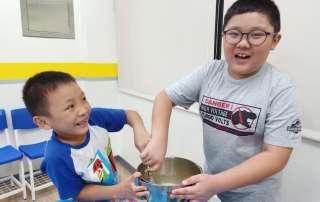 喬登美語 基隆雙語學校 暑期自造王 DIY鬆餅