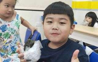 發現夏令營-有個小廚師_自己動手做壽司 喬登美語 安親班